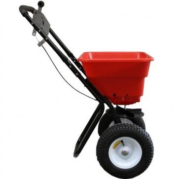 Epandeur à pousser rond avec rotor - 25 kg