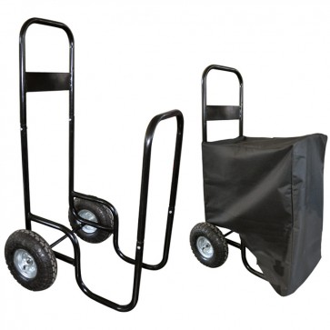 Chariot à buche - 150 kg - avec housse