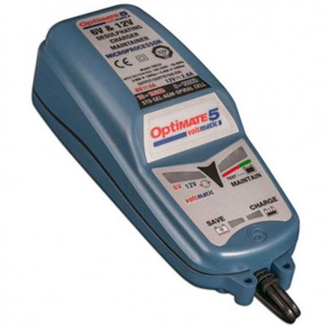 Optimate OM5VOLTMATIC  - Chargeur de batteries de 6V - 12V - 7,5 à 120 Ah