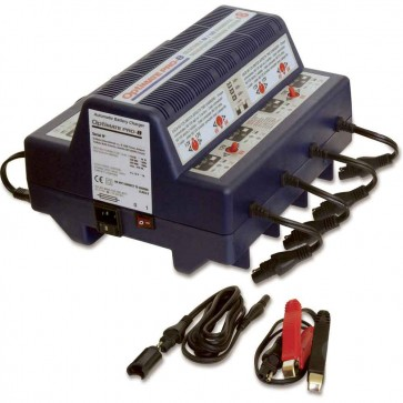 Optimate OMPRO8  - Chargeur de batteries - Gestion totale jusqu'à 8 batteries de 6 ou 12V - Plomb Acide - STD - AGM - GEL