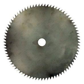 Lame acier pour débroussailleuse 80 dents - Coupe (mm): 250 - Alésage (mm): 25.4 - Epaisseur (mm): 1.9