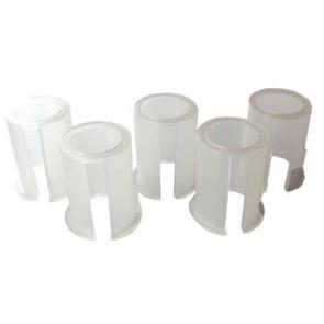 Jeu de 5 bagues plastiques de diamètres 24mm, 25mm, 25,4mm, 26mm et 27mm - Se monte avec notre renvoi d'angle universel 1602042