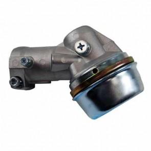 Renvoi d'angle adaptable sur certains modèles ECHO, livré avec rondelle de centrage de lame de diamètre 25,4 mm. Sortie filet mâle M10 x 1,25 G . diamètre du tube: 28 mm