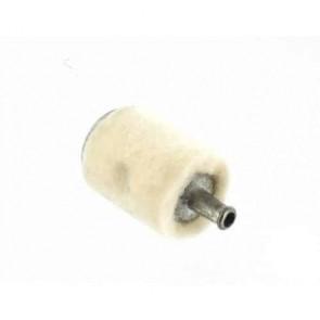 Crépine en feutre adaptable pour TILLOTSON & autres. Remplace origine: OW-497. L: 24mm,Ø: ext.: 20mm,Ø: entrée.: 5mm