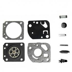Kit réparation adaptable ZAMA pour modèle carburateur C1Q monté sur ECHO SRM2400, SRM2100, GT2000 et GT2400. Remplace origine: RB-62