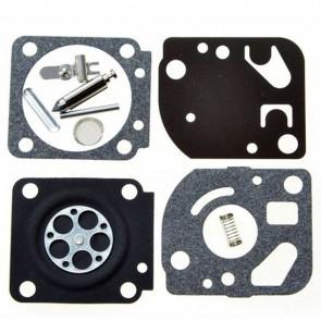 Kit réparation adaptable ZAMA pour modèle carburateur C1Q monté sur STIHL, ECHO SV4 et autres .Remplace origine: RB-65