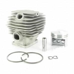 Cylindre complet Ø: 46mm adaptable pour STIHL modèle 028 Super- Remplace origine: 11180201202