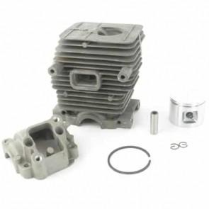 Cylindre complet Ø 40mm adaptable pour STIHL 019 et MS190- Remplace origine: 11300201206