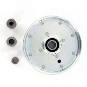 """Poulie à gorge plate adaptable pour SCAG modèles 32"""", 36"""", 48"""", 52"""" et 61"""" - H: 30,16mm, Ø ext: 131,76mm, Ø int: 9,52mm. Remplace origine: 49198"""