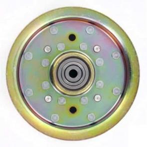 Poulie à gorge plate adaptable pour SCAG modèle TURF TIGER - H: 44,45mm, Ø: ext: 149,22mm, Ø int: 9,52mm. Remplace origine: 482416