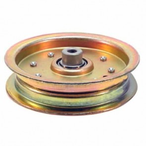 Poulie à gorge plate tout acier adaptable SCAG. remplace origine 183213, 482306, 48473. Similaire à notre Poulie 6203343 composite