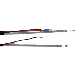 Câble d'accélération adaptable pour coupe bordure SHINDAIWA modèle C270 . Remplace origine: 70105-83100 - Longueur câble: 1074 mm Longueur gaine: 999 mm