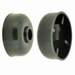 Roue anti-scalp adaptable pour STIGA modèle Villa - Long moyeu: 28,6mm, Ø: ext: 65mm, alésage: 16,5mm. Remplace origine: 1134-0630-01