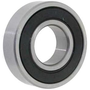 Roulement à double étanchéité adaptable SCAG. Ø int: 25, Ø: ext.: 61,91, Ep: 16,67mm. Remplace origine: 48101