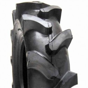 Pneumatique profil agraire 4 plis pour motoculteur - Dimensions: 400 x 8 - (Montage avec chambre air)