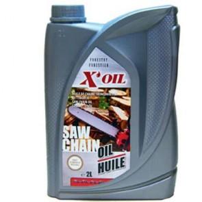 Huile de chaîne Super filante X'OIL bidon de 2 litres
