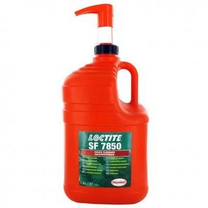 Crème nettoyante pour les mains biodégradable avec distributeur LOCTITE 7850, rinçage avec ou sans eau. Flacon de 3L