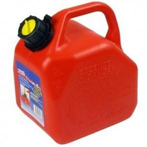 Jerrican plastique avec bec verseur PRO. Contenance 5 litres.