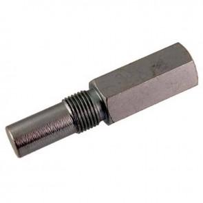 Bloque piston, ou fausse bougie en métal pour moteurs 2 temps. Permet le blocage du piston