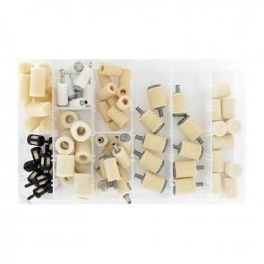 Coffret assortiment de crépines d'alimentation adaptable pour STIHL,HOMELITE, TILLOTSON, TECUMSEH, Mc CULLOCH....Contient 80 pièces