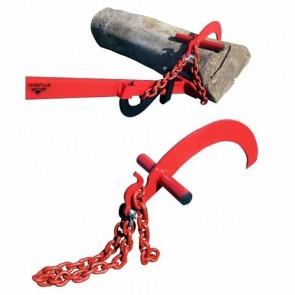 Chaîne de 260mm et griffe tournebille pour troncs de large diamètres. S'adapte sur les leviers 9307800 et 9307801