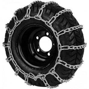 Paire de chaine à neige pour pneumatique - Dimensions: 410/350 x 4 et 340/300 x 5