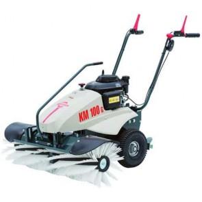 Balayeuse CRAMER KM 100G - Moteur Honda GCV160 - 160 cc - Largeur de travail 100 cm - Diamètre brosse 30 cm