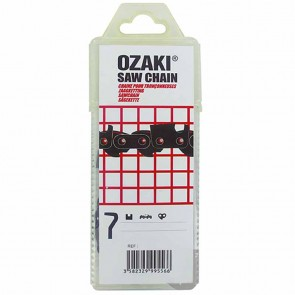 Chaîne de tronçonneuse OZAKI Semi-Pro - 3/8'' Lo Pro Semi-carrée - Nombre d'entraineurs: 34 - Jauge: .043'' (1,1 mm)