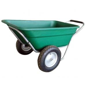 Remorque pour tracteur tondeuse autoportée, quad et motoculteur.