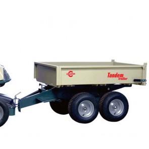 Remorque basculante en acier - 300 kg - CRAMER TADEM