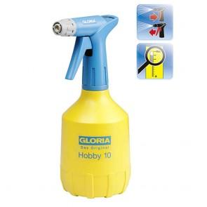 GLORIA 138 - Pulvérisateur à main HOBBY 102 - 1 L - pompe à double effet, buse réglable, réservoir stable en polyéthylène