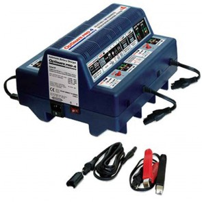 Optimate OMPRO4  - Chargeur de batteries - Gestion professionnelle pour 4 batteries 12V