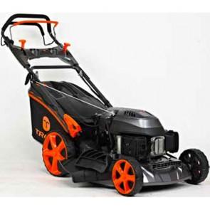 TREX G51 SHLVE-C - Tondeuse à essence autotractée - châssis en acier - Coupe 51 cm - Mulching - éjection latérale - Démarrage électrique (Tondeuse)