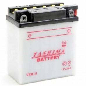 Batterie plomb renforcée 12V 3Ah - L: 98 - l: 56 - H: 110mm + à droite pour scooter motos (livrée sans acide)