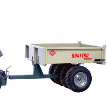Remorque basculante en acier - 200 kg - CRAMER QUATTRO