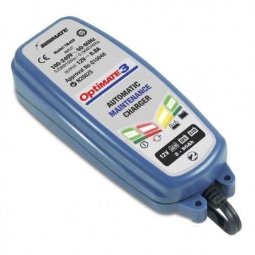 Optimate OM3  - Chargeur de batteries de 12 V - 30 Ah