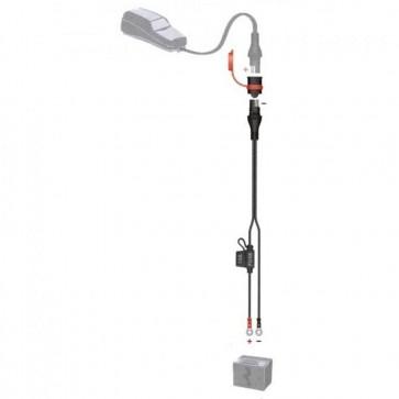 Optimate SAE81  - Accessoire pour chargeur Optimate - raccord oeillets et fusible - 10A max - 0.5m