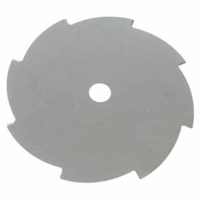 Lame acier pour débroussailleuse 10 dents - Coupe (mm): 255 - Alésage (mm): 25.4 - Epaisseur (mm): 2