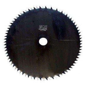 Lame acier pour débroussailleuse 80 dents - Coupe (mm): 200 - Alésage (mm): 25.4 - Epaisseur (mm): 1.6