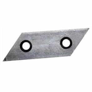 Couteau de broyeur d'origine pour AL-KO modèles Newtec, Dynamic, Power Slider et Avantec - L: 98,2mm, l: 30mm, Ø: trou: 8,6mm, entraxe: 45mm. Remplace origine: 517828