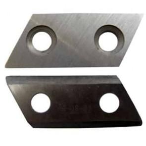 Kit de 2 Lames réversibles d'origine RYOBI 5132000144 et 5132002646 pour modèle RSH2400R. Remplace origine ACC030 et RAC351