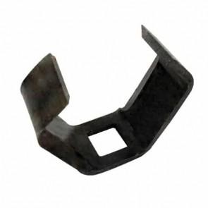 Couteau de broyeur adaptable pour AL-KO modèles H2200. B3000. B3200 - L: 107mm. H: 82mm. Trou carré de 24mm - Remplace origine: 343.359