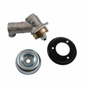 Renvoi d'angle adaptable pour ZENOAH et autres - livré avec rondelle de centrage de lame de diamètre 25,4 mm. Sortie filet mâle M10 x 1,25 G . diamètre du tube: 26 mm - 7 dents, 7mm