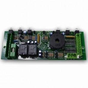 Platine électronique 6 fonctions adaptable pour CASTELGARDEN avec fusible. Remplace origine: 25722401/0, 25722406/0