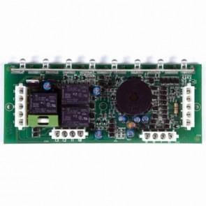 Platine électronique 8 fonctions adaptable pour CASTELGARDEN avec fusible. Remplace origine: 25722413/0, 25722413/1