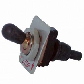 Contacteur marche/arrêt 2 positions, 1 borne adaptable sur STIHL pour tronçonneuse et autres. Remplace origine: 1121-430-0200