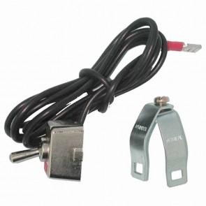 Contacteur universel avec collier de serrage pour guidon de Ø: 19 à 23mm.