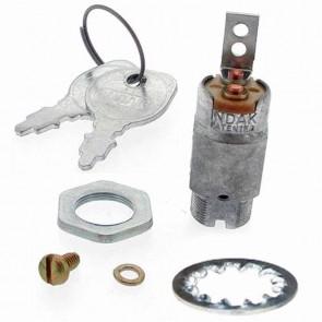 Contacteur à clé 1 borne - 2 positions, type magnéto adaptable pour SNAPPER. Remplace origine: 1-1853