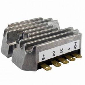 Régulateur de tension adaptable JOHN DEERE. Remplace origine AM101406.
