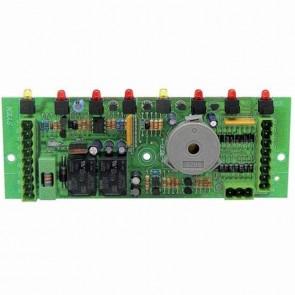 Platine électronique 8 fonctions adaptable pour CASTELGARDEN avec fusible. Remplace origine: 25722407/0
